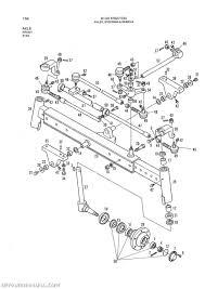 allis chalmers model 6140 2 4 wd parts manual