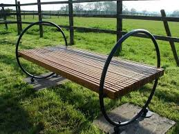 original garden benches adding beautiful accents to backyard designs
