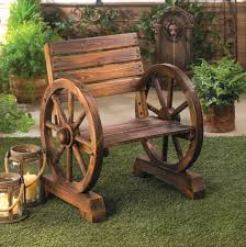 Wagon Wheel Home Decor Amazon Com Rustic Wood Wooden Wagon Wheel Outdoor Garden Patio