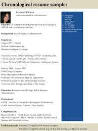 Administrative Resume Template Top 8 Construction Contract Administrator Resume Samples