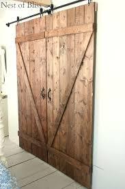 Barn Style Door Hardware How To Build Sliding Barn Door by Diy Sliding Doors Nest Of Bliss U2026 Pinteres U2026
