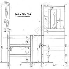 Dining Room Furniture Plans Dining Room Chair Plans Woodworking Project Ideas Pinterest