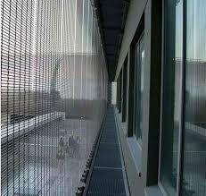 Outdoor Mesh Curtains Metal Mesh Façade Grille Decorative Screen Panels