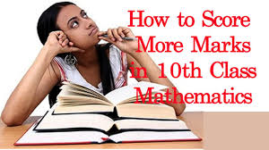 exam tips for 10th class mathematics students award of marks