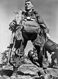 american paratrooper 1945 by robert capa robert capa
