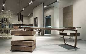 Modern Wood Office Desk Omaggio Modern Office Desk Room Service 360