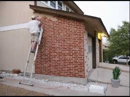 Painting Masonry Exterior - painting bricks youtube
