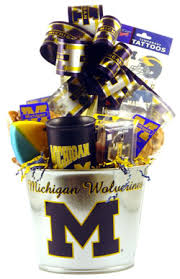 michigan gift baskets of michigan deluxe gift basket by personalized gift baskets