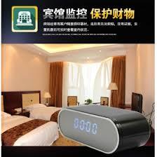 spy camera in the bedroom 1080p hd wifi ip mini spy hidden camera alarm table clock motion