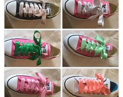 ribbon shoe laces shoelaces etsy