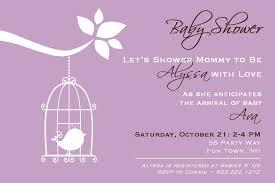 28 purple baby shower invitation templates purple baby shower