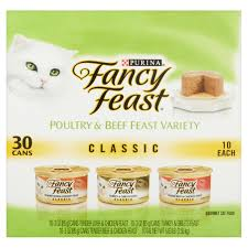 purina fancy feast classic poultry beef collection cat food 30 3