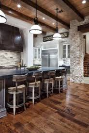Outdoor Island Lighting 2015 Rustic Modern Kitchens Rustic Modern Look Rustic Island