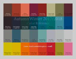 autumn winter 2017 2018 trend forecasting is a trend color guide