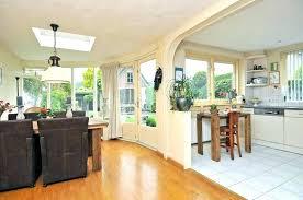 kitchen sitting room ideas kitchen dining room ideas exle of a classic medium tone wood