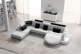 canapé d angle en simili cuir canapé d angle en cuir gris modèle loan