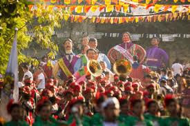 the higantes festival angono rizal philippines the mixed culture