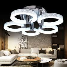 European Ceiling Lights European Modern Style Led Acrylic Chandeliers Ceiling Light L