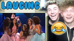 Challenge Reaction Fifth Harmony Try Not To Laugh Challenge Reaction