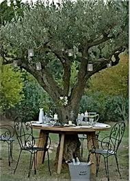 outdoor table the tree back yard ideas dump a day