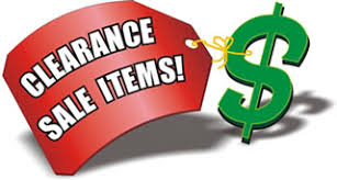 clearance sales special offers