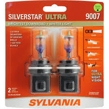 2016 nissan altima headlight replacement amazon com sylvania 9007 silverstar ultra high performance