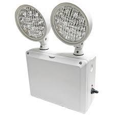 heavy duty emergency light exitronix ledrx 2 gr
