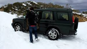 discovery land rover 2000 land rover discovery ii stuck on deep snow youtube