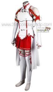 asuna cosplay costume sao sword art online costumes