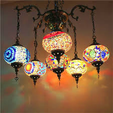 Moroccan Pendant Lights Bohemia Turkish Moroccan Pendant Light Handmade Mosaic Stained