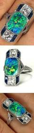 cornflower blue opal best 25 opal and sapphire ring ideas on pinterest opal rings