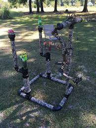 pvc pipe archery stand guns and camo pinterest pvc pipe