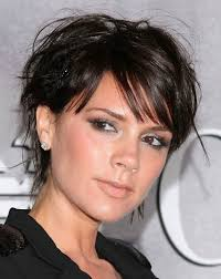 ideas about short hairstyles for round faces cute
