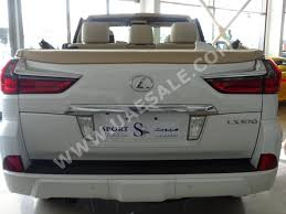 lexus uae lx this 2016 lexus lx570 with a chopped roof is listed for 350 000