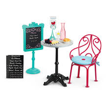 american doll table and chairs grace s bistro set american wiki fandom powered by wikia