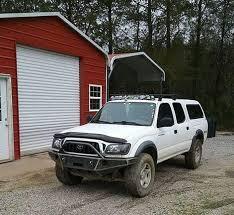 2002 toyota tacoma front bumper 1995 2004 toyota tacoma front winch plate bumper non winch