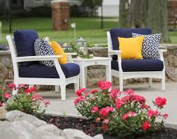 Deep Seat Patio Chair Cushions Marvelous Deep Seat Patio Chair Cushions From Blue Linen