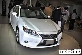 lexus car models uae 2013 lexus es350 first look motoring middle east car news