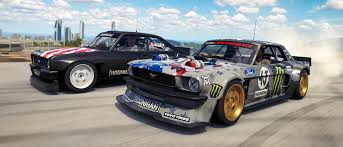 hoonigan mustang engine microsoft and hoonigan team up for hoonigan car pack in forza