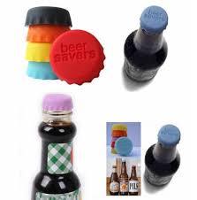 beer savers silicone rubber bottle cap multicolor wine beer top