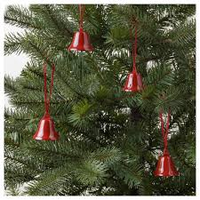 vinter 2017 hanging decoration bell shaped red ikea