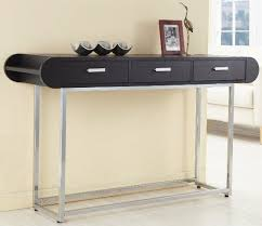 black sofa table with drawers modern console table stylish item exist decor