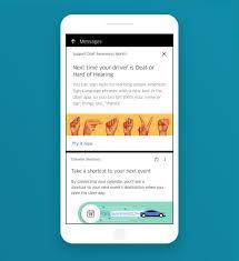 lyft and uber add asl to rides popsugar news