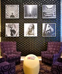 lobby vintage wall art interior design boutique hotel hospitality
