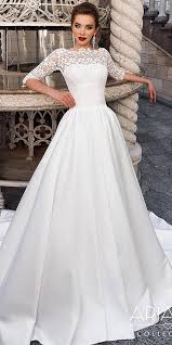 modest wedding gowns 21 modest wedding dresses with sleeves wedding dresses guide