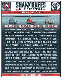 2018 lineup u2013 shaky knees music festival
