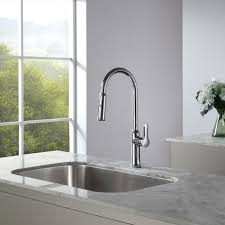 kraus commercial pre rinse chrome kitchen faucet kraus chrome pullout kitchen faucet single handle faucets product