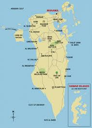 map of bahrain map of bahrain map region maps satellite images of bahrain