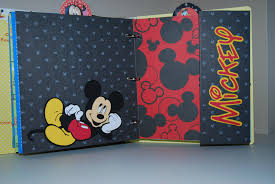 mickey mouse photo album cardmonkey s paper jungle disney pixar hop dreaming of a