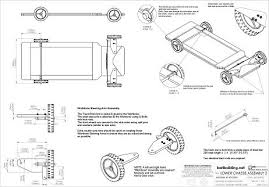 plans for a wooden push cart with steering wheel at kartbuilding blog